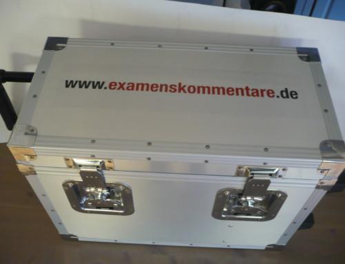 Die neuen Koffer sind da!